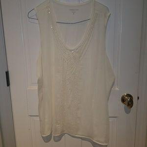 Beautiful beaded Coldwater Creek blouse